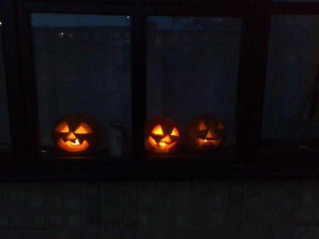 Halloween Pumpkins 2009