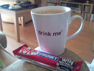 Coffee and chocolate guilty pleasures