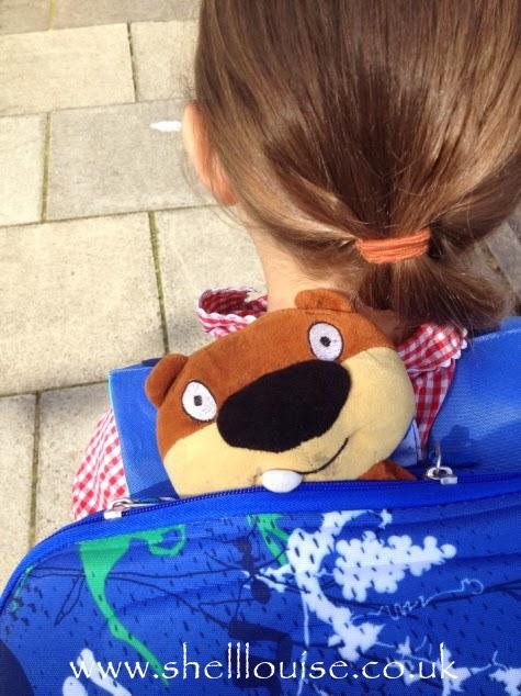 Beaver goes to school