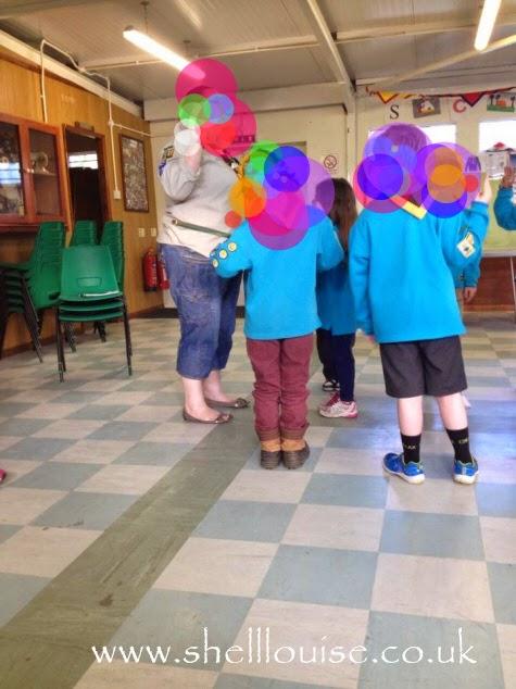 Ella's Beaver Investiture ceremony