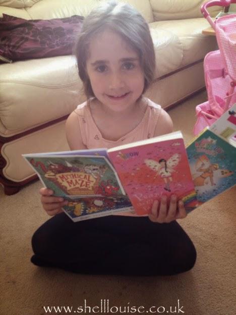Ella's summer bucket list reading challenge