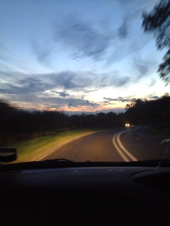 Driving home from Skegness