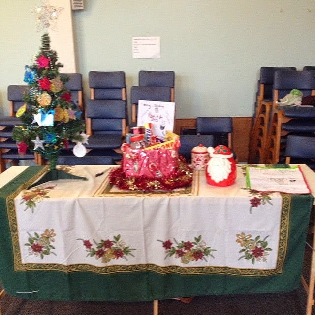 Guides Christmas fair - KayCee and Emma's stall