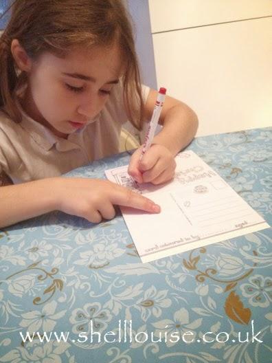 Ella colouring