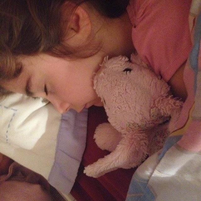 November 23rd - Ella asleep