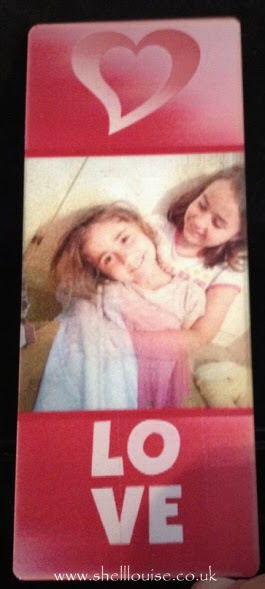 Christmas presents - Photograph bookmark