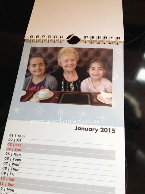 Christmas presents - January's calendar photograph
