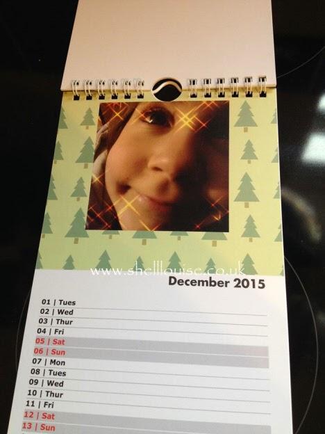 Christmas presents - December's calendar photograph