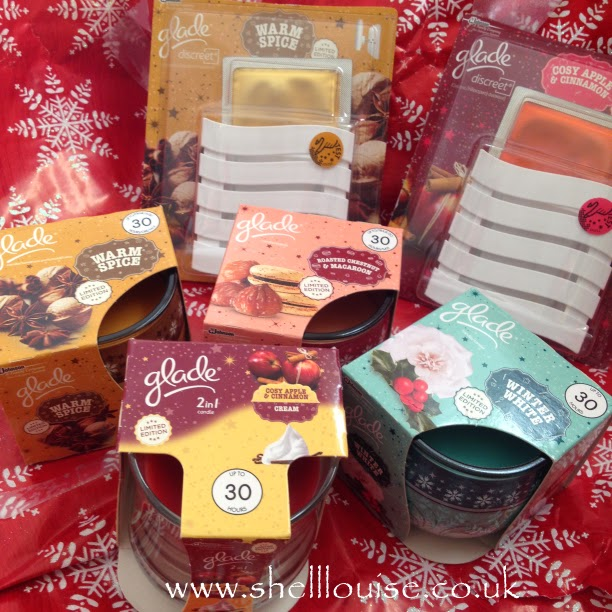 Glade Christmas scents - candles and plugins