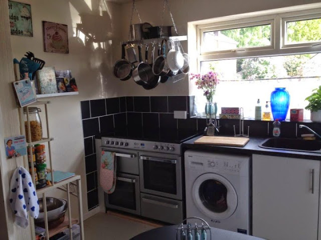 Look back at 2014 - May - We finally have a kitchen!