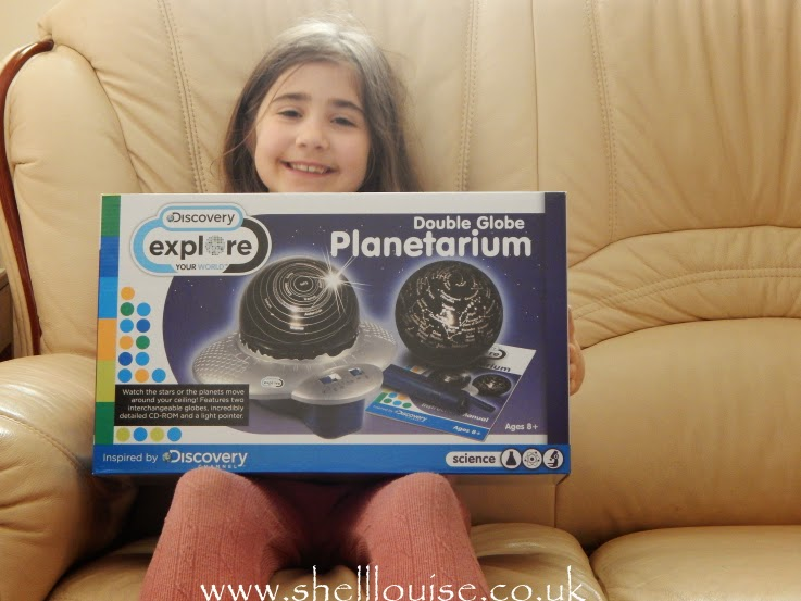 Ella witht he planetarium
