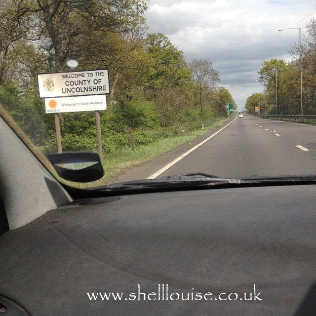 Welcome to the county of Lincolnshire sign - week 2