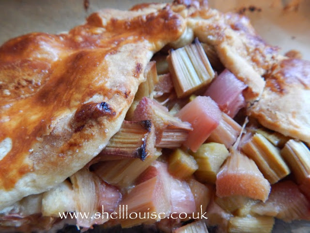 Rhubarb pie - week 4 of project 365