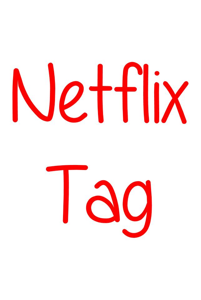 Netflix tag text