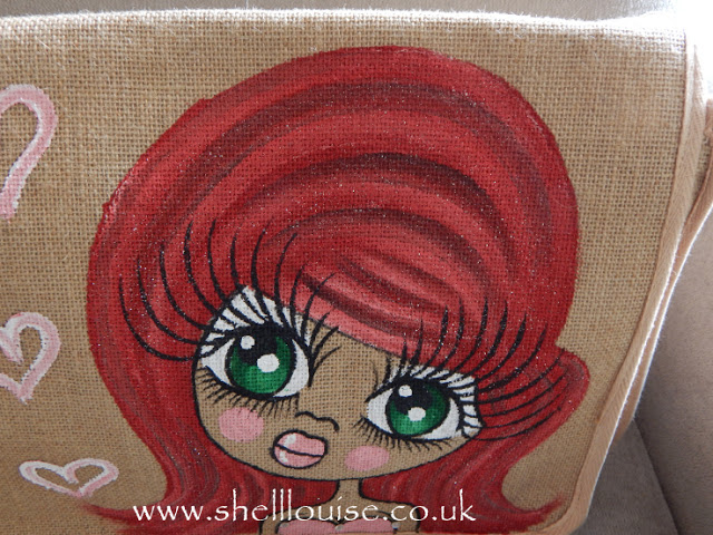 ClaireaBella hand painted bag