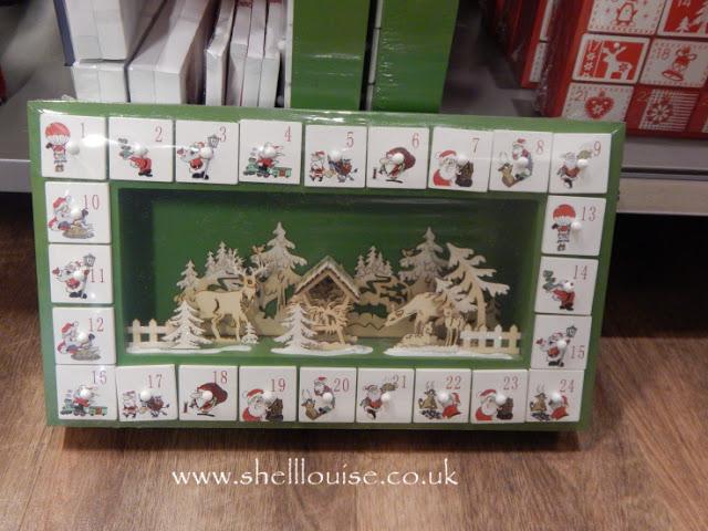 Home Sense Lincoln - Wooden advent calendar