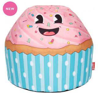 Cupcake beanbag