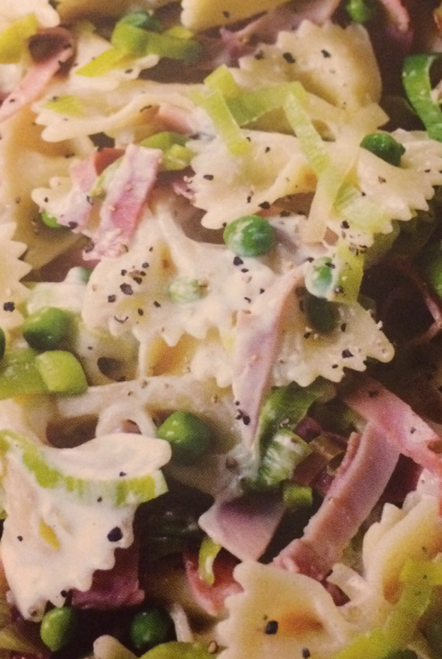 Slimming World Leek Ham And Pea Farfalle Recipe Shell