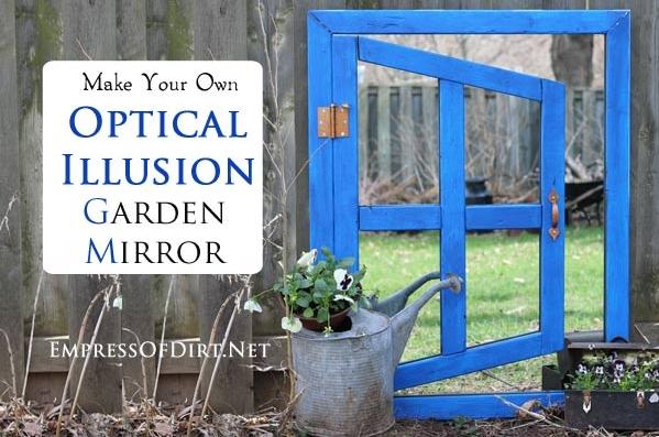 optical illusion mirrors