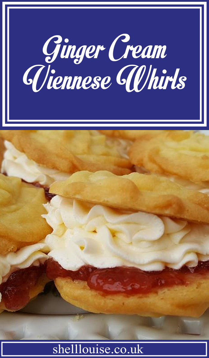 ginger cream viennese whirls