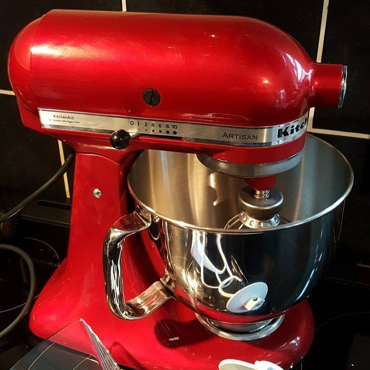 Red KitchenAid Artisan