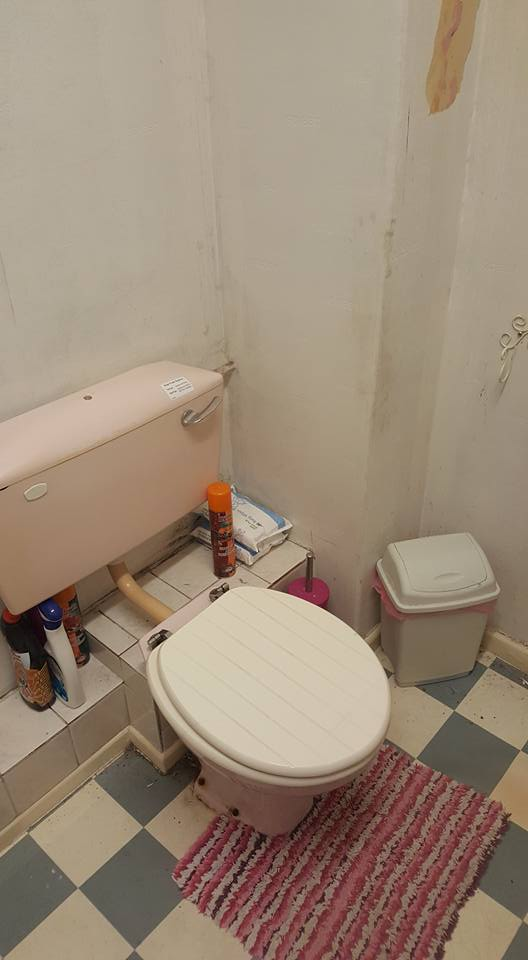 Shower Room Makeover Before and After