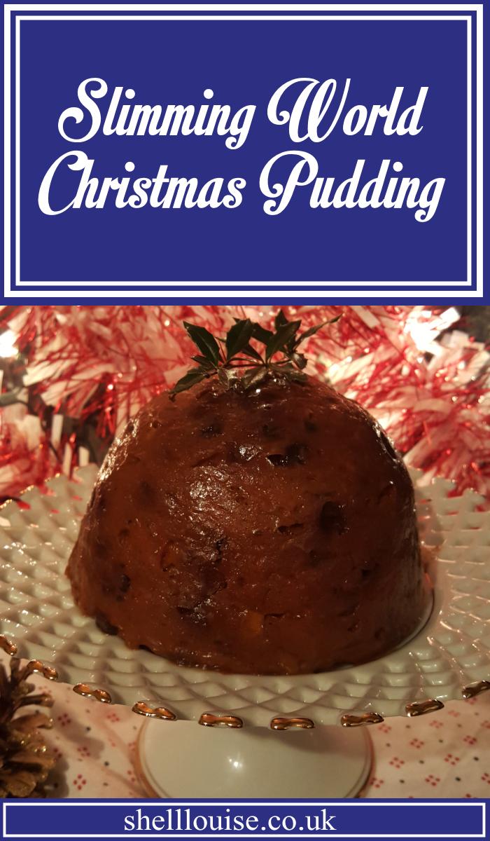 Slimming World Christmas Pudding