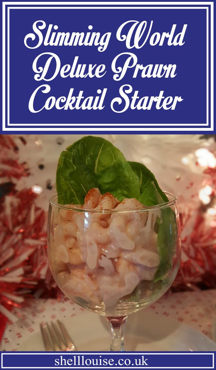 Slimming World Deluxe Prawn Cocktail Starter