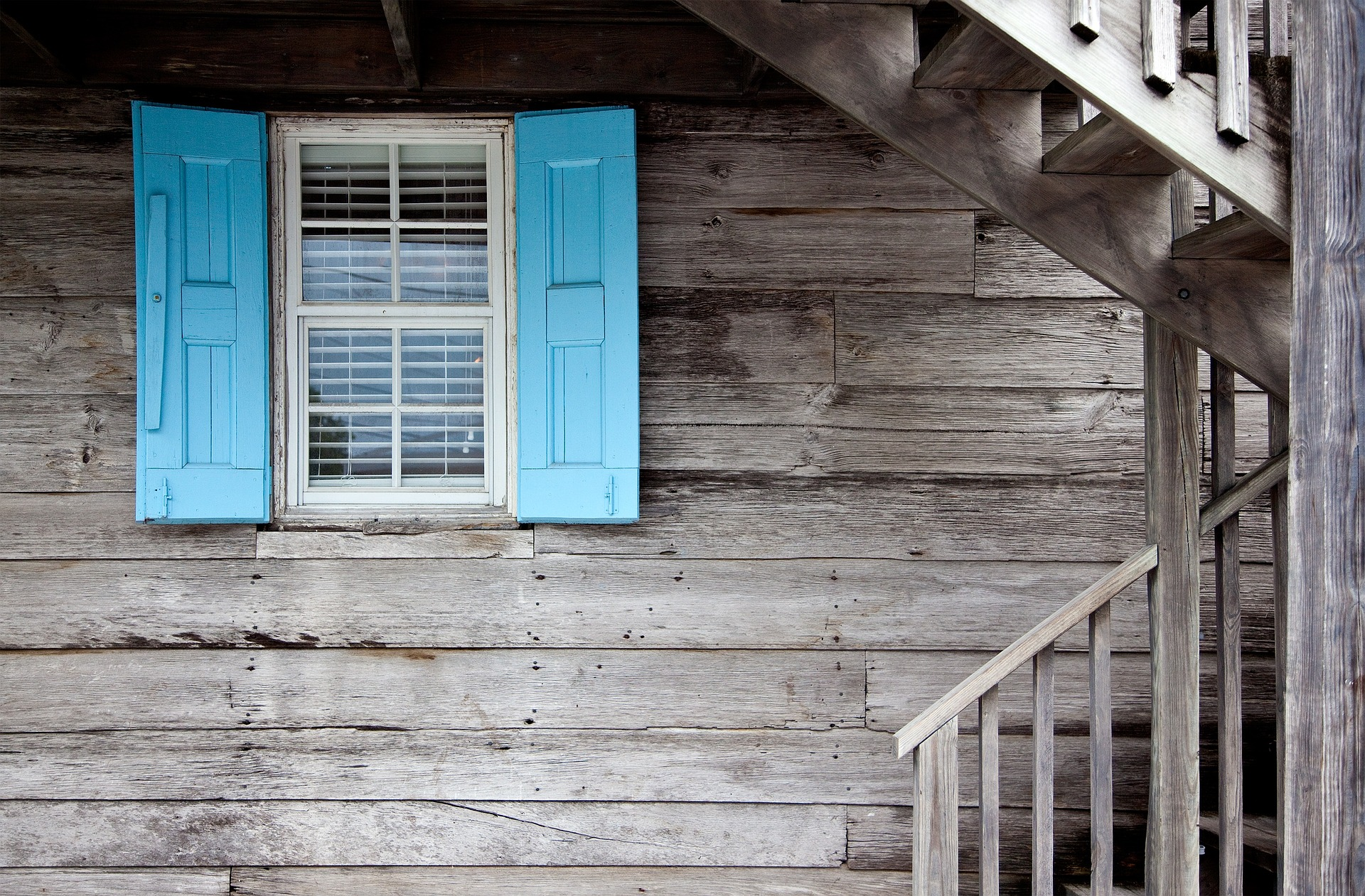 Window and shutters Remodelling a home