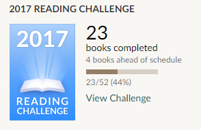 Goodreads 23 books read