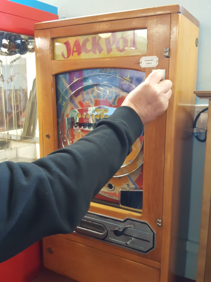 Great Yarmouth penny arcade