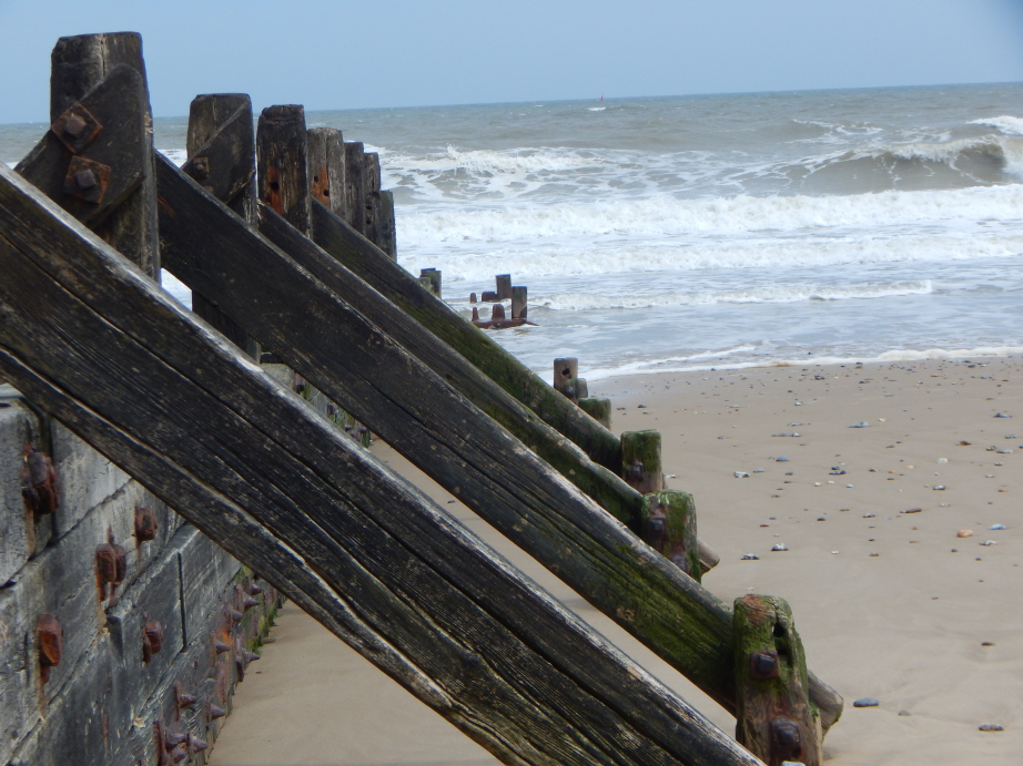 Mundesley photos - beach and sea