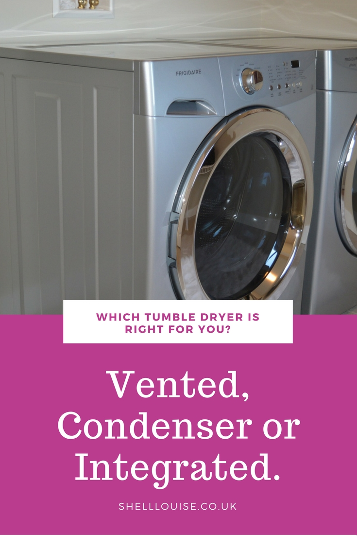 which tumble is dryer is right for you, vented, condenser or integrated header