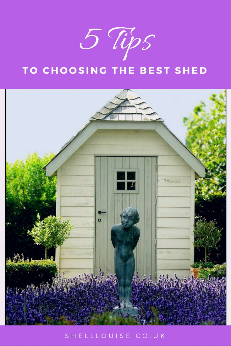 5 tips to choosing the best shed