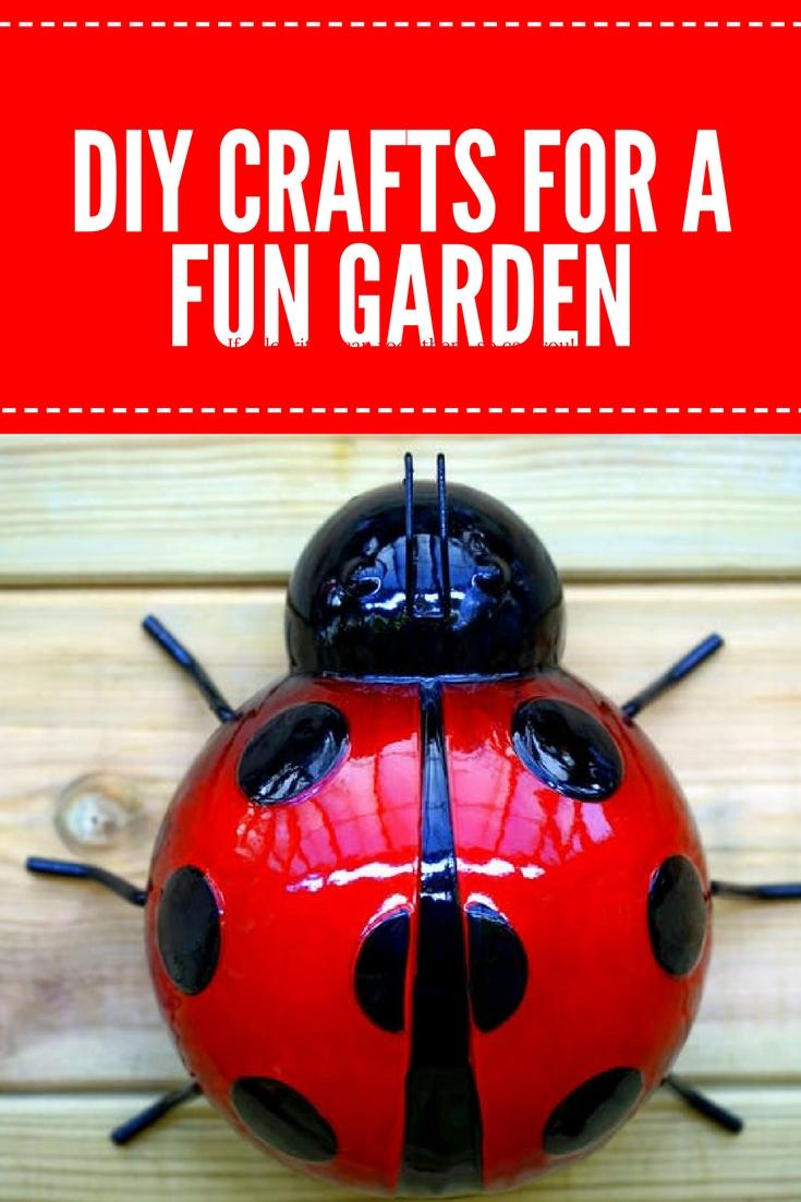 DIY crafts for a fun garden