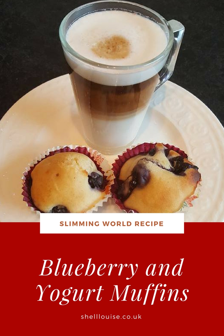 Blueberry and yogurt muffins