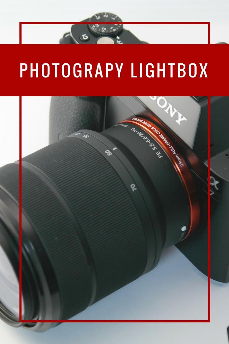 photography lightbox