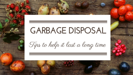 tips for your garbage disposal