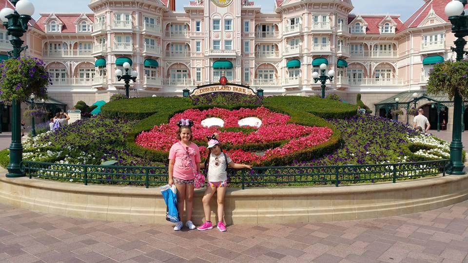 Kaycee and Ella - Disneyland Paris Photos