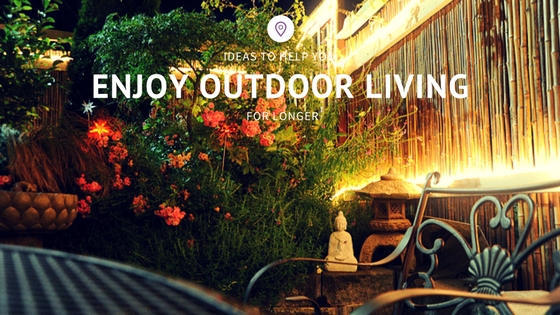 enjoy outdoor living