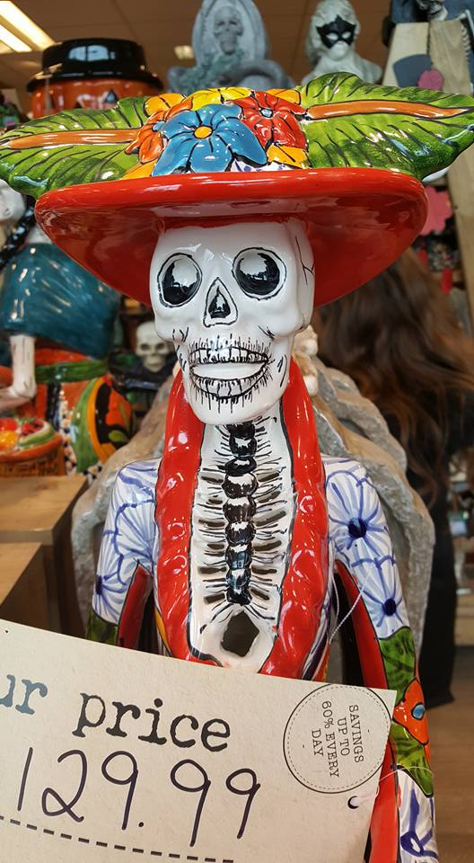 HomeSense Halloween - skeleton