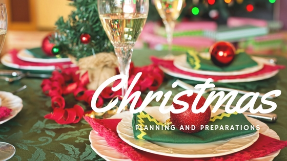 Christmas planning and preparation
