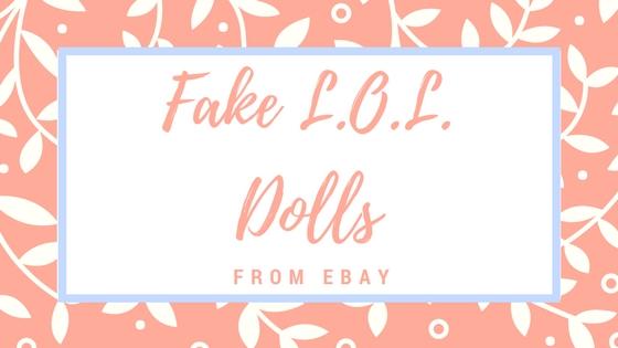 fake LOL dolls