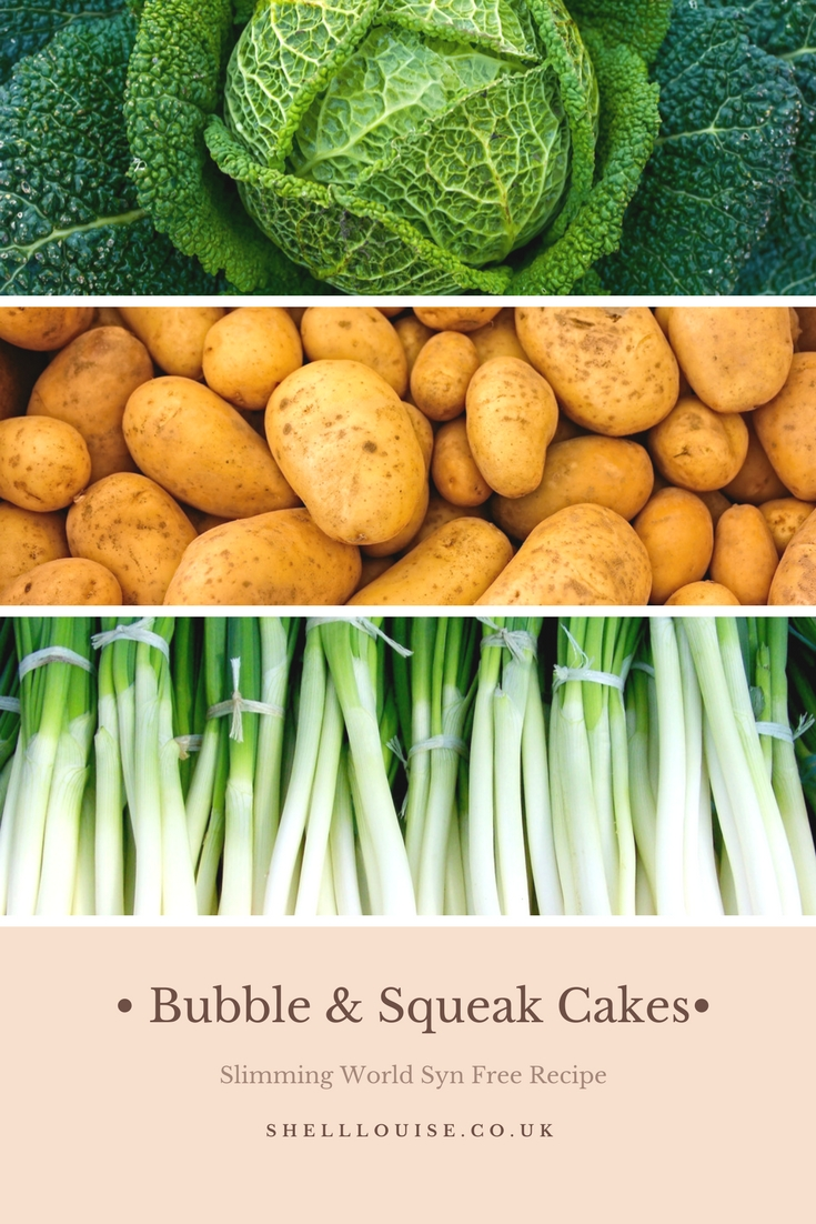 Bubble and squeak cakes Slimming World recipe