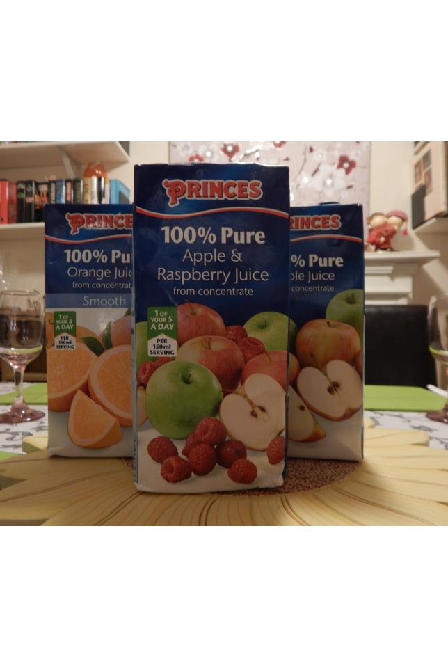 Princes pure juices review