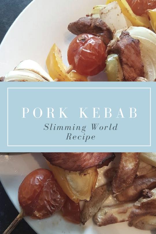 Pork kebabs Slimming World recipe
