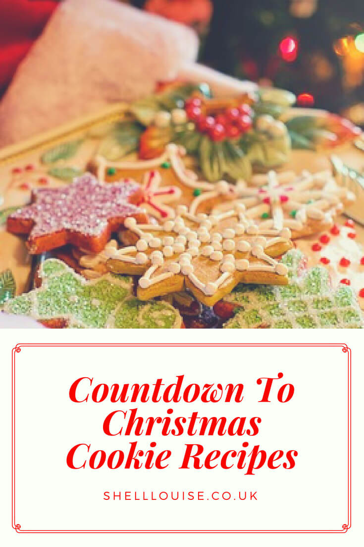 Countdown To Christmas Cookie Recipes