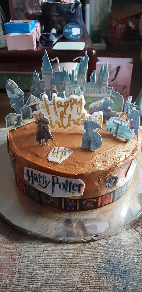 13th birthday Harry Potter cake