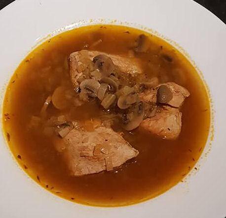 October 1 day 12 pics number 10 - Slimming World chicken mushroom medley
