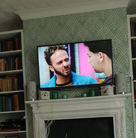 October 1 day 12 pics number 8 - catching up with Corrie